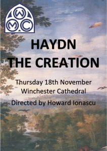 Winchester Music Club: HAYDN THE CREATION